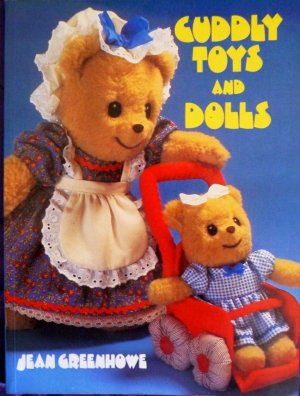 Cuddly Toys and Dolls by Jean Greenhowe Book  FREE SHIPPING