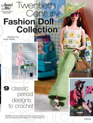 Fashion Doll Collection '20th Century' by Annie's Attic - FREE SHIPPING
