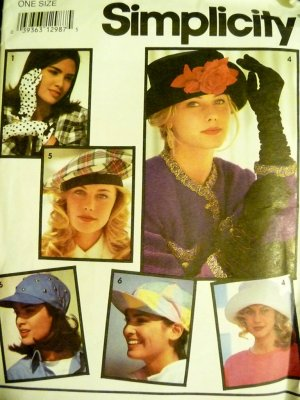 Hats and Gloves Pattern S 7932 - FREE SHIPPING