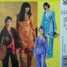 Oriental Costume Pattern M 5208 Girls 7-14 - FREE SHIPPING