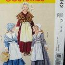 Girls' Pilgrim Costumes Pattern M 5442 - FREE SHIPPING