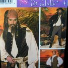 Men's L, XL Pirates Costumes Pattern S 4923  -  FREE SHIPPING