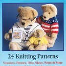 "Teddy Bear Knits Book II of ""Sweaters for Teddy Bears"" - FREE SHIPPING"
