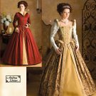 Misses Elizabethan Costume Pattern Simplicity 3782 TWO Gowns - FREE SHIPPING