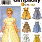 Girls Dress Pattern S 7120 - FREE SHIPPING