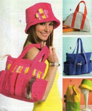 Hats and Handbags Pattern B 4821 - FREE SHIPPING