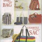 Sport A New Bag Pattern More Than 10 Different Bags To Sew! B 6678 - FREE SHIPPING