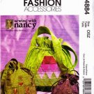 Sewing With Nancy Zieman Drawstring Bags Pattern M 4884 - FREE SHIPPING