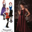 Misses Corset Style Overdress Steampunk Costume Pattern ArkiVestry Collection, Gothic S 2757