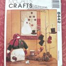 Snowman Wall Quilt and Ornaments Pattern - FREE SHIPPING