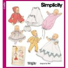 Baby Doll Clothes Pattern Vintage Reprint S 5215 - FREE SHIPPING