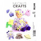 Doll Clothes Pattern in 2 Sizes  M 4736  - FREE SHIPPING