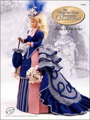 Victorian Lady Centennial Collection, Miss September - FREE SHIPPING