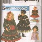 Daisy Kingdom Dress With Doll Dress Pattern S 9436 - FREE SHIPPING