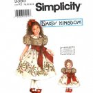 Daisy Kingdom Dress With Doll Dress Pattern S 9355 - FREE SHIPPING