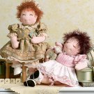 """Vogue 7985 Linda Carr 15"""" Baby Doll & Clothes Pattern - FREE SHIPPING"""