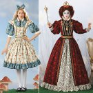 Alice & Queen of Hearts Costume Pattern S 2325 - FREE SHIPPING