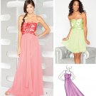 Prom, Party, Special Occasion Dress Pattern S 1908 Jessica McClintock - FREE SHIPPING
