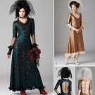 Steampunk Bride Costume Pattern S1772 - FREE Shipping