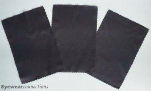 3 microfiber cleaning cloth / eyeglasses & iphone