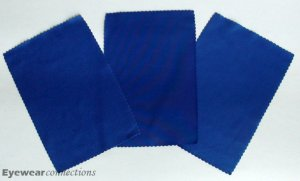 3 Blue Microfiber Cleaning Cloth