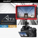 "LILLIPUT 7""  Model  A7s 4K HDMI 1.4 30Hz Field Monitor with LP-E6 battery Plate"