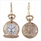 #3980 Classic Eagle Pocket Watch