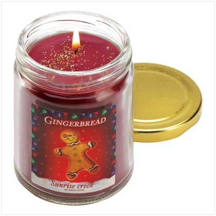 #13217 Gingerbread Scent Candle