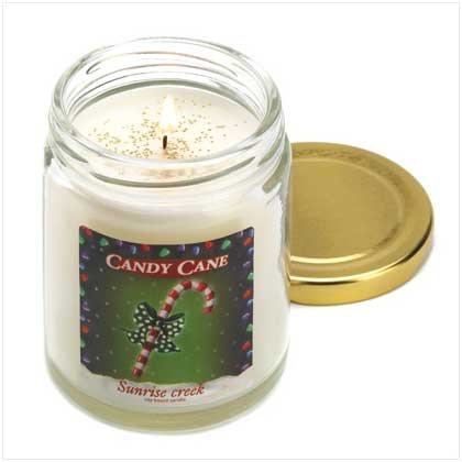 #13220 Candy Cane Scent Candle