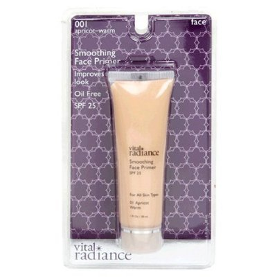 Vital Radiance Soothing Face Primer, Apricot-Warm 001, 1 fl oz