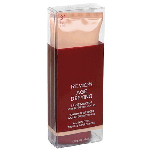 Revlon Age Defying Light Makeup with Botafirm, SPF 30, All Skin Types, Fair 31, 1 fl oz (30 ml)