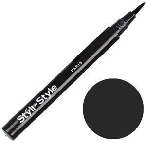 New Styli-Style Liquid Liner, Waterproof, 502 Black - 0.02 fl oz (0.8 ml), 1 Pack.