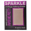 Mary-Kate and Ashley Paper Me Pretty Sparkle Makeup Sheets - Gold Sparkle #812