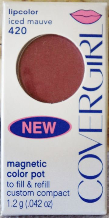 Covergirl Magnetic Color Pot Lipcolor Shade Iced Mauve 420