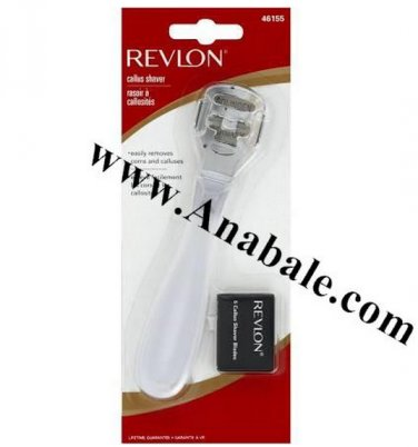 Revlon Callus Shaver with 5 Replacement Blades, 1 Each
