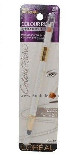 L'Oreal Colour Riche Wood Pencil Eyeliner # 950 White Rlanc