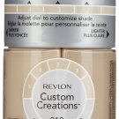 Revlon Custom Creations Foundation 010 Fair/Light, 1 Pack
