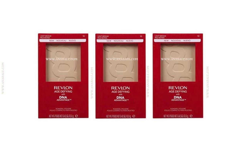 (Lot of 3) REVLON Age Defying Powder with DNA Advantage, Medium Deep 20