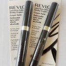 (Lot of 2) Revlon Luxurious Color Smoky Crayon, 008 Steel Smoke, 0.035-Ounce