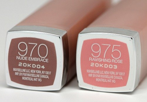 (Lot of 2) Maybelline Nude Embrace (970) and Ravishing ...