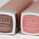 (Lot of 2) Maybelline Nude Embrace (970) and Ravishing Rose (975) Color Sensational lipstick