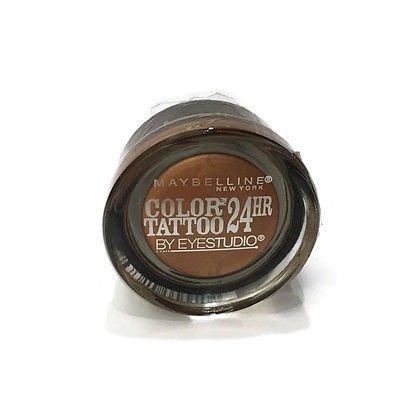 Maybelline New York Eye Studio Color Tattoo Metal 24 Hour Cream Gel Eyeshadow, 100 Caramel Cool
