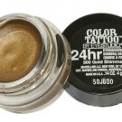 Maybelline Color Tattoo By Eyestudio 24 Hr Eye Shadow #300 Gold Shimmer