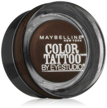 Maybelline Eye Studio Color Tattoo Eye Shadow, 400 Rich Mahogany - 0.14 oz