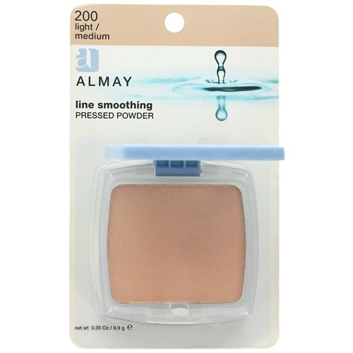 Almay Line Smoothing Pressed Powder, 200 Light/Medium, 0.35 oz