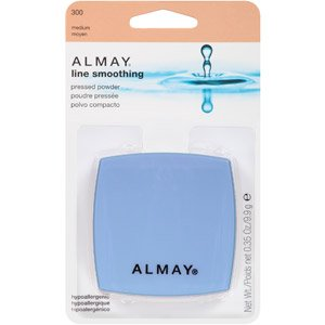 Almay Line Smoothing Pressed Powder, Medium 300,  0.35 fl oz (9.9 g)