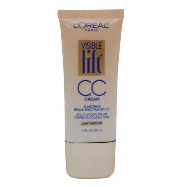 L'Oreal Paris Visible Lift CC Cream, Light/Medium 180, 1.0 Oz