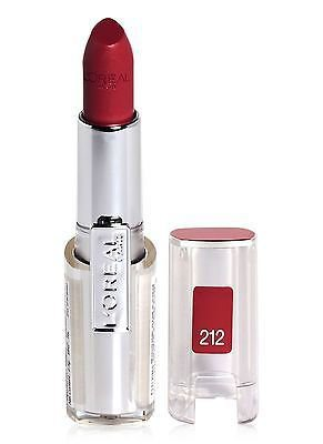 L'Oreal Paris Infallible Le Rouge Lipcolor, Rambling Rose 212, 0.09 oz