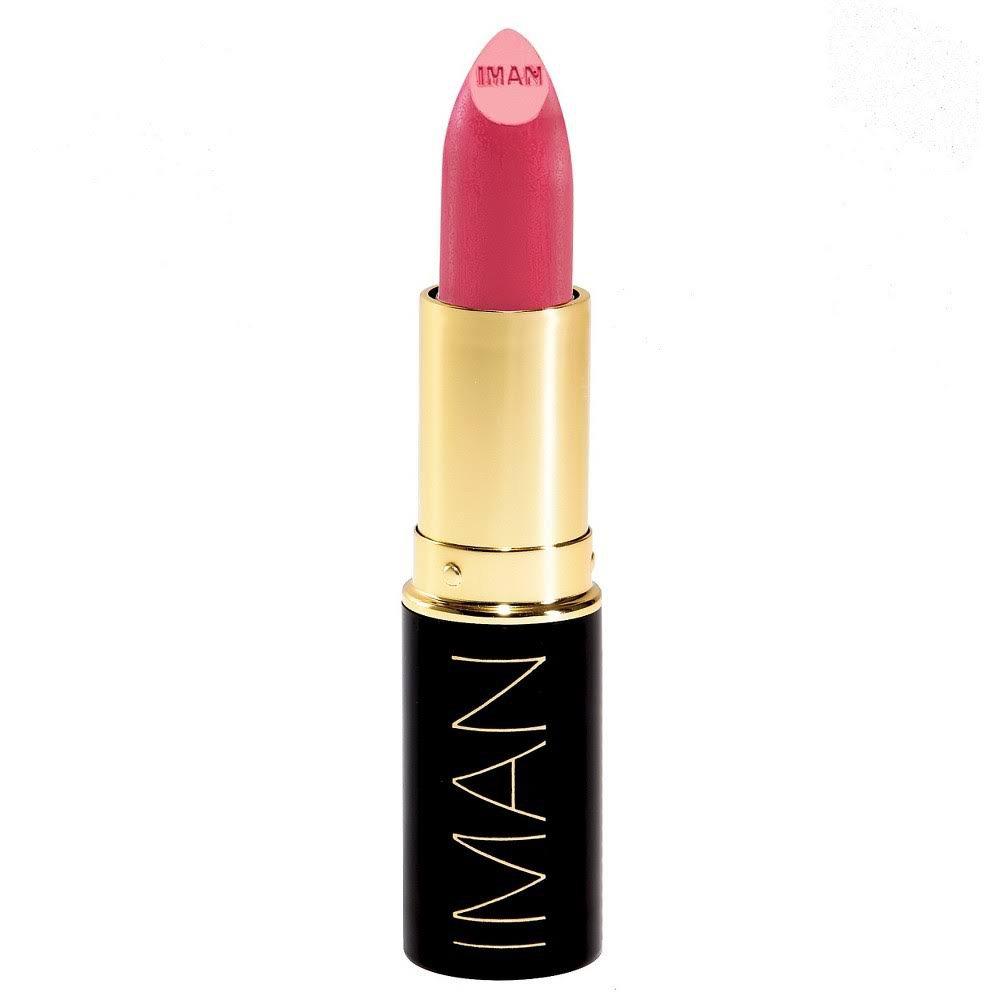 Iman Luxury Moisturizing Lipstick, 031 Kinky Pink by Iman