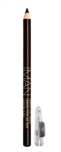 Iman Cosmetics Perfect Eye Pencil, Black Shimmer